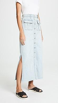 4e70f4266c9 Madewell Beverly Pieced Jean Skirt
