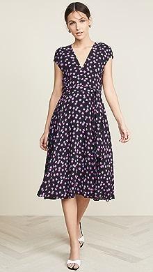 795d4bf99a Diane von Furstenberg Jemma Cinch Sleeve Midi Dress | SHOPBOP