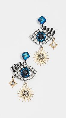 Elizabeth Cole Peace Earrings jbMni