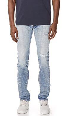 SOLD OUT · Fabric Brand & Co. Ezra Selvedge Slim Fit Jeans. $565.00 $395.50  $395.50 · + more. like it