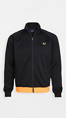 Fred Perry Made In Japan Track Jacket,Black