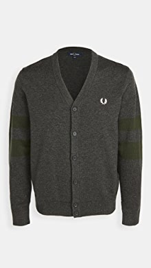 Fred Perry Tipped Sleeve Cardigan