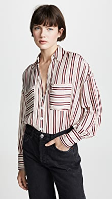 e336f55c Free People. Mad About You Button Down Shirt