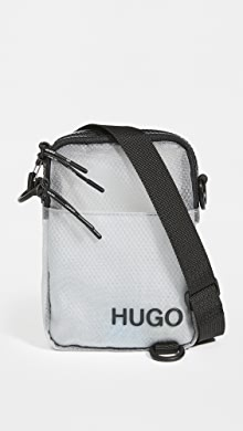 HUGO Hugo Boss Cyber Mini Bag,Transparent