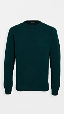 하울링 Howlin Wavemaker Wool Sweater,Bottle Green