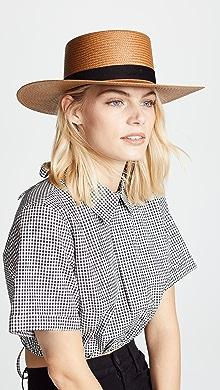beae1f3a637 Janessa Leone Klint Hat
