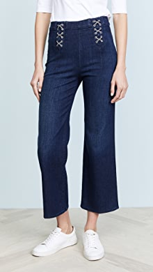 Via Pleat Front Pant in Blue. - size 26 (also in 27,28,29,30) J Brand
