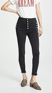 0e7592fa06a0b Cropped Jeans