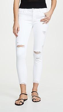 e94bd6feb4b2 J Brand. 835 Mid Rise Crop Skinny Jeans