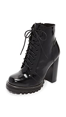 e8cc50a5b155 Jeffrey Campbell. Legion Lace Up High Heel Booties