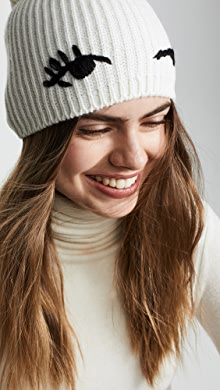 80f1fb16511 Kate Spade New York Solid Bow Beanie Hat