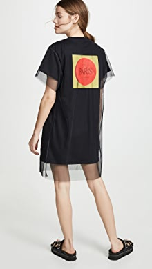 c4aa7f22cd4 Moschino. Scribble Rose Logo T-Shirt Dress ·  495.00. like it. KENZO