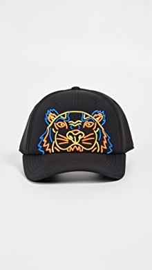 c132f4af4bf KENZO Tiger Cap with Metallic Embroidery