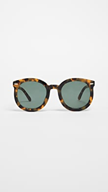 421981ba3d0 Karen Walker. Alternative Fit Super Duper Strength Sunglasses ·  250.00. Crazy  Tort G15 Mono ...