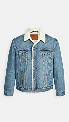 Levis Red Tab Fable Sherpa Trucker Jacket,Fable Sherpa