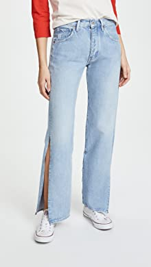 Jeans On Sale in Outlet, White, Cotton, 2017, 33 Prada