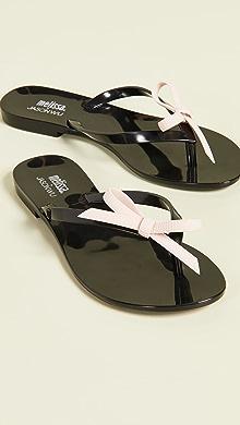 658d07611c1d Melissa Harmonic Bow III Thong Sandals