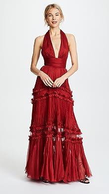 Red Long Formal Dresses