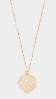 Gorjana Ana Coin Lariat Necklace   SHOPBOP SAVE UP TO 25