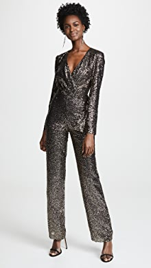 856c86d1aad Misha Collection. Sharnie Sequined Jumpsuit