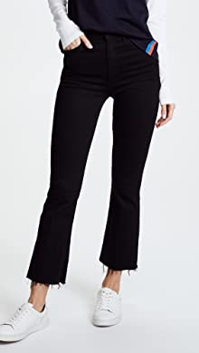 flared raw edge jeans - Black Mother Best Prices Buy Cheap Extremely Inexpensive Cheap Online txF31v