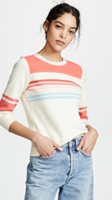 6e64f600d0e THE GREAT. The Cut Off Sweatshirt