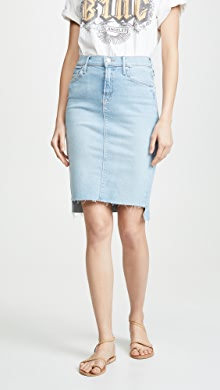 MOTHER MOTHER Superior Swooner Straight A Chew Skirt | SHOPBOP
