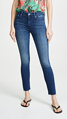 9092bd4ef3ee MOTHER The Looker Ankle Fray Jeans | SHOPBOP