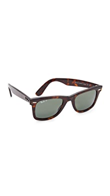d2a245121c Ray-Ban. RB2140 Wayfarer Polarized Sunglasses