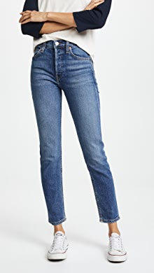 68528c33910c AGOLDE. Remy High Rise Straight Jeans · $168.00. like it. RE/DONE