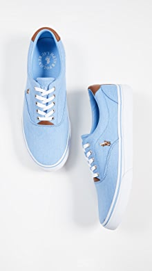 9a737bdec78cc Polo Ralph Lauren Thorton Low Top Sneakers | EAST DANE