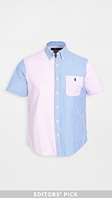 폴로 랄프로렌 Polo Ralph Lauren Seersucker Classic Shirt,Fun Shirt