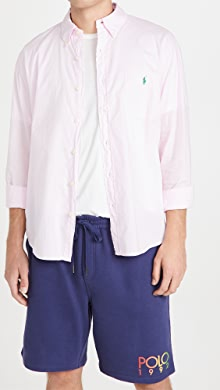 폴로 랄프로렌 Polo Ralph Lauren Long Sleeve Beach Cloth Shirt,Pink