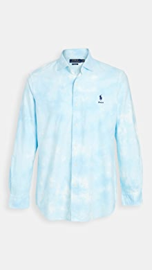 폴로 랄프로렌 Polo Ralph Lauren Long Sleeve Laguna Shirt,Blue