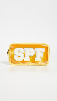 Stoney Clover Lane Small Sparkle Pouch with Patches   SHOPBOP