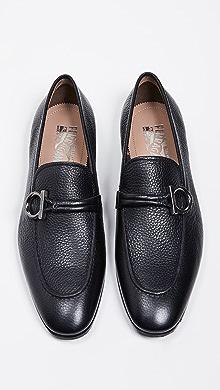 4257cd1ed2cad5 SOLD OUT · Salvatore Ferragamo. America Side Gancini Loafers.  695.00   695.00  695.00