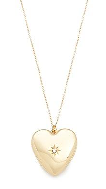 Sasha Samuel Moon and Star Locket Necklace uJq8r