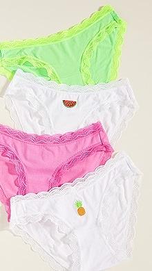 7e05bf9d4dfa Cheek Frills The Dream Panties Set | SHOPBOP