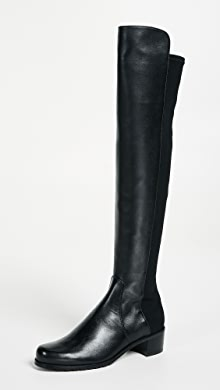the latest b4f82 2caf8 Stuart Weitzman 5050 Stretch Suede Boots   SHOPBOP