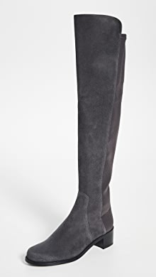Stuart Weitzman Reserve Stretch Suede Boots ShopbopNy Shopbop New