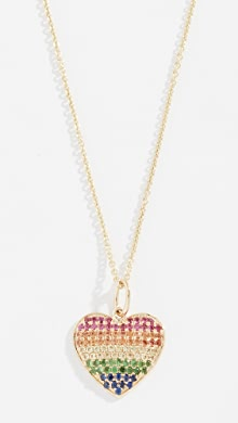 8f3266a2c9a 14k Gold Rainbow Love Necklace. YOU ALSO MIGHT LIKE Shop the Look. Sydney  Evan
