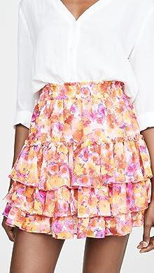 Girls' Clothing (newborn-5t) Popular Brand Janie And Jack Baby Pink Pleated Chiffon Spring Skirt 3-6 Months $40