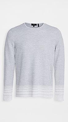 띠어리 Theory Guinard C.Fragmented Shirt,Birch/Grey Heather