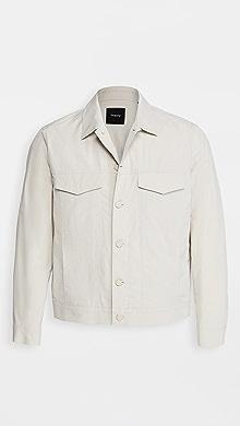 띠어리 Theory River Cotton Trucker Jacket,Muslin