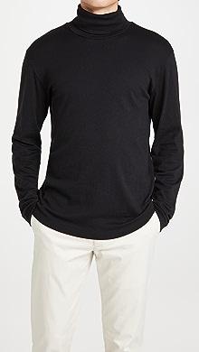 띠어리 Theory Wyndem Turtleneck Shirt,Black