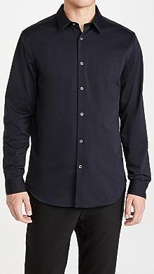 띠어리 Theory Sylvain Structured Shirt,Eclipse