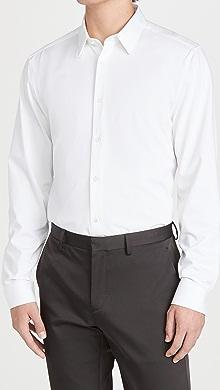 띠어리 Theory Sylvain Structured Shirt,White