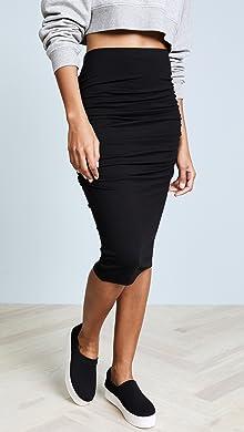 5357a741cb Mid Calf   Tea High Waisted Skirts