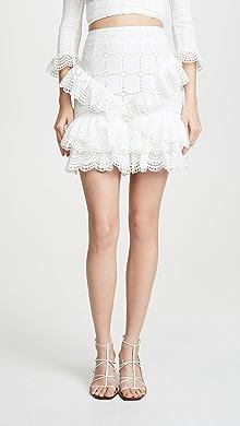 48ce186ae2c0 For Love & Lemons Hermosa Eyelet Miniskirt | SHOPBOP