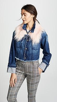3befe6c6ca70 DL1961 Zoe Cut Off Jean Jacket